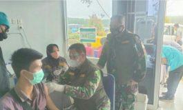 Tim Vaksi Mobile Kodim 0402/OKI Sambangi Daerah Terpencil Air Sugihan