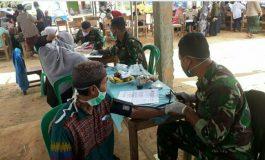 Lindungi Santri, kodim 0402/Oki Lanjutkan Vaksinasi di Pesantren Al-Hidayat