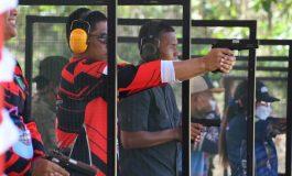 Danrem 044/Gapo Ikuti Lomba Menembak Dalam Rangka Hari Jadi Kota Prabumulih Ke - 20