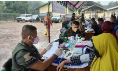 Kodim 0402/Oki bersama PT. WMA bantu Masyarakat dapat Layanan Vaksin
